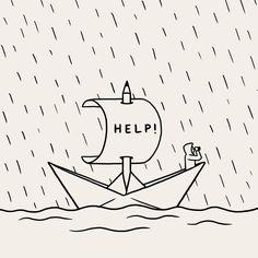 Stop raining now please… Matt Blease, Design Art, Logo Design, Visual Puns, Pictogram, Illustration Art, Illustrations, Art Direction, Concept Art