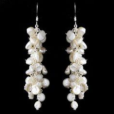 Freshwater pearl earrings | Unique Jewelry