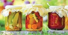 Preserving Your Harvest...gorgeous!