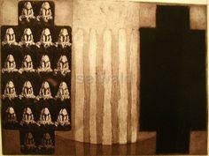 Luis Seiwald - Essenz - Radierung - 1995