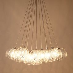 Buy John Lewis Knightley Mesh Parachute Cluster Ceiling Light Online at johnlewis.com