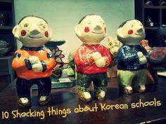 10 shocking things about Korean schools