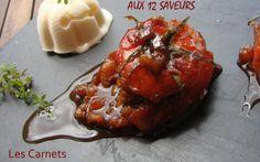 """750g vous propose la recette """"Tomates confites aux 12 saveurs"""" notée 4/5 par 5 votants."""