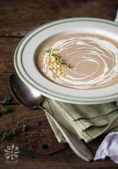 Creamy Chestnut Soup | Vessy's Day