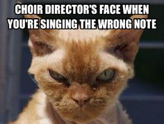 not for the sopranos in my choir we sightread perfectly and never hit a wrong note... except the person behind me she sings like a chipmunk