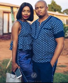 the best couples shweshwe dresses for We accept aggregate the ultimate account of couples analogous apparel account to advice booty your accord Sotho Traditional Dresses, Traditional African Clothing, Traditional Wedding Dresses, Traditional Outfits, African Wedding Attire, African Attire, African Wear, African Dress, Xhosa Attire