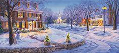 Paysage d'hiver de Linda Picken