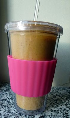 Ring in the end of summer with a yummy pumpkin breakfast smoothie!
