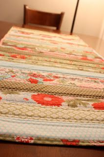 Mr. & Mrs. Phillips: Quilted Table Runner