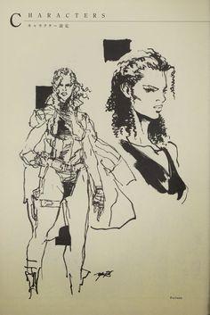 Synteza historii i sztuki: Yoji Shinkawa - The Art of Metal Gear Solid 2: Sons of Liberty