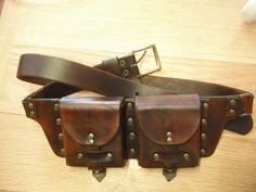 leather pouch belt - Google Search