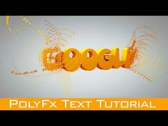 Cinema 4D R18 Polyfx Tutorial | Cinema 4D R18 Text Animation Tutorial - YouTube