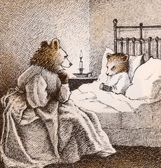 Little Bear by Else Holmelund Minarik illustrations by Maurice Sendak - I read this to both my children - over and over and over and. Little Bear. His illustrations melt my heart. Bear Art, Bear Illustration, Illustration, Picture Book, Maurice Sendak, Art, Childrens Art, Fairy Tales, Book Art