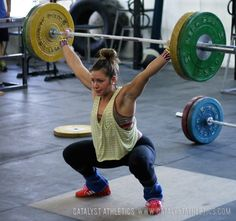 The value of the heaving snatch balance to improve strength, speed, stability, balance and position for the snatch in Olympic weightlifting.