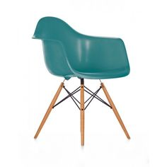 Eames Plastic Arm Chair DAW Stuhl white / weiß