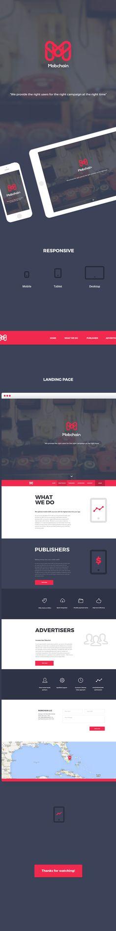Mobchain on Behance