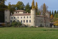[For Sale] Sole agency In the Drôme, this unique castle historical monument of the sixteenth and eighteenth s, with a base of the thirteenth s, has been completely renovated recently. It totals 1600 m² of floor area. The property of about 40 ha has several outbuildings including 3 apartments of about 100 m², a remarkable dovecote, a swimming pool and pool house.  #luxuryrealestate #realestate #chateau #castle #forsalechateau #forsalefrance #forsalecastle