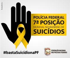 FENAPEF - Polícia Federal assume sétimo lugar em ranking de suicídios