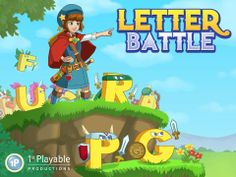 Letter Battle - a fun iOS game for practicing your Spelling skills in a RPG setting