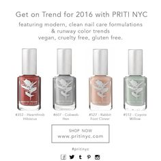Nail Polish Kits, Clean Nails, Nail Care, Color Trends, Hibiscus, Cruelty Free, Perfume Bottles, How To Get, Perfume Bottle