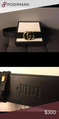 2a44d3bd575 Leather Belt Lightly used and authentic Men s belt Comes with box bag and  copy of receipt Size 95 fits men women size Gucci Accessories Belts