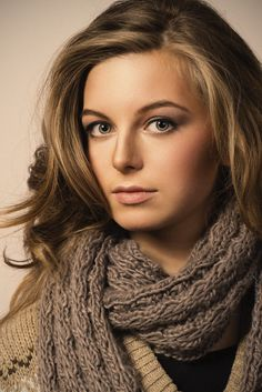 Pretty Vlada | pretty girl, retouched photo, scarf, cutie