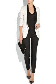 STELLA MCCARTNEY  Wool-twill tuxedo jacket  £1,175 (net-a-porter.com)