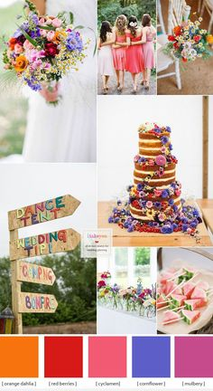 Summer wedding flowers Ideas , summer wedding theme | itakeyou.co.uk #summerwedding