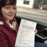 Congratulations to Kirsten Parkes of Gillingham Medway who passed her practical driving test with Topclass Driving School  Kirsten passed her test at the Gillingham driving  test centre.  Now the journey to college will be so much easier.  Well done Kirsten this should really make a massive difference to you , and give you that all important independence.  All the best for the future from your driving instructor Amanda and all the team at Topclass Driving School  Driving Lessons Medway
