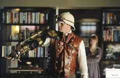 """If I had the means, the Steampunk arm worn by Nathan Fillion on """"Castle"""" is on eBay..."""