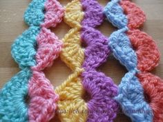 Mis Pasatiempos Amo el Crochet: 8 Ideas creativas en ganchillo usando el mismo molde