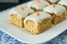 Porkkanaleivokset - Sweet Food O´Mine Krispie Treats, Rice Krispies, Sweet Recipes, Pudding, Desserts, Food, Drink, Tailgate Desserts, Deserts