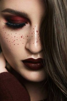20 Burgundy Makeup Looks That Are Perfect For Fall