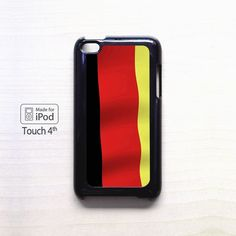 Germany color flag AR for iPod 4/5 applecase