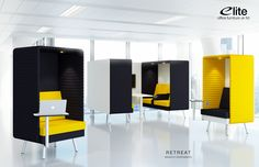 Retreat Single & Double Booths from Elite