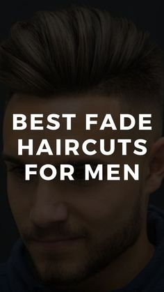 10 Best Fade Haircuts For Men 2020 Temp Fade Haircut, Fade Haircut Styles, Types Of Fade Haircut, Taper Fade Haircut, Long Hair Styles, Best Fade Haircuts, Mens Hairstyles Fade, Haircuts For Men, Men's Hairstyles