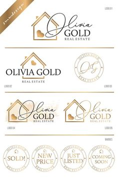 66 Ideas for home logo design packaging Three Logo, One Logo, Real Estate Logo Design, Real Estate Branding, Logo Inspiration, Logo Moda, Real Estate Signs, Logo Real, Bussiness Card