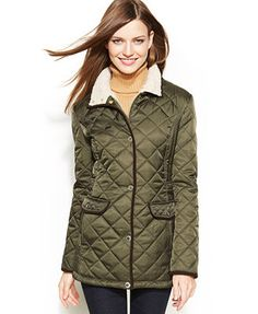 Nautica Quilted Barn Jacket