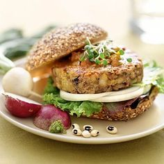 Vegetarian or not, you will love these veggie burger recipes—perfect, protein-packed meatless meals. 5 protein-packed veggie burger recipes. | Health.com