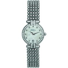 Shop the Michel Herbelin Ladies Silver Perles Bracelet Watch from our watches range at Free next day UK delivery. Fancy Watches, Cool Watches, Ring Watch, Bracelet Watch, Big Night Out, Michel, Stainless Steel Watch, Lady, Diamond Jewelry