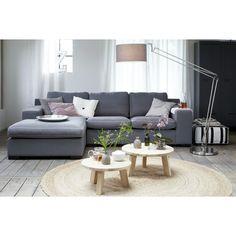 loungebank - woonkamer - salontafel - bijzettafel - lamp