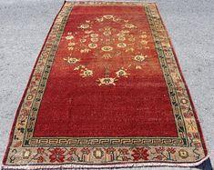 Vintage Turkish Carpets and Vintage Turkish Kilim by SILKROADRUGS House Interior, Turkish Carpet, Rugs, Vintage, Carpet, Kilim, Vintage Turkish Kilim, Bohemian Rug, Hallway Rug