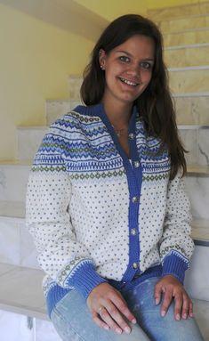 Knit Jacket, Sweater Jacket, Norwegian Knitting, Fair Isle Knitting, Fair Isles, Yarn Crafts, Submissive, Women, Diys