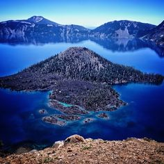 Crater lake is in Oregon. Crater Lake Oregon, Places Ive Been, Wander, Photograph, Instagram Posts, Outdoor, Photography, Outdoors, Photographs