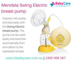 If you are looking for the Mendela Swing Electric breast pump, you can visit our sister company's website for online purchases. # MendelaSwingElectricbreastpump ‪#‎breastpump‬ ‪#‎nursing‬ ‪#‎babies‬ ‪#‎electricpump‬ http://ilsau.com.au/prod…/medela-swing-electric-breast-pump/