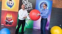 Foto: Jonas River y Pete Docter presentan en Madrid 'Del revés (Inside Out)' (Pablo Cuadra/Getty Images)