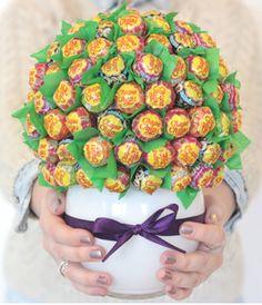 So macht man ein Lollipop Bouquet