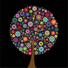 Poster Árvore Pop Art - Top Quadros