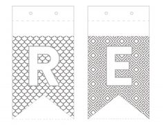 Free Reformation Day Banner. A coloring activity from www.coloringworkbooks.com