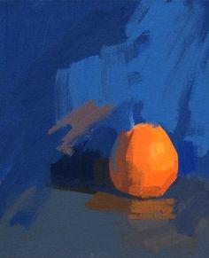 Philip Richardson | Orange | PAINTINGS | Pinterest | Nature morte, Peinture et Nature